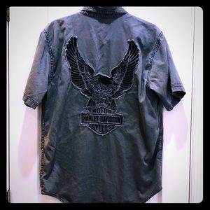 Harley Davidson Work Shirt Small